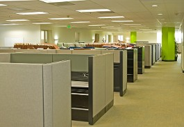 Commercial Cleaning Service in Frederick MD | Tops Cleaning Company | Cubicles